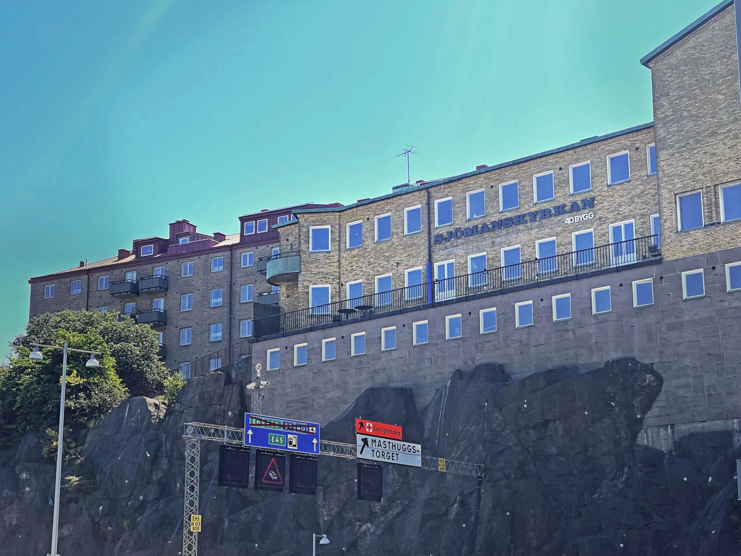 Sjömanskyrkan Fasadskylt LED