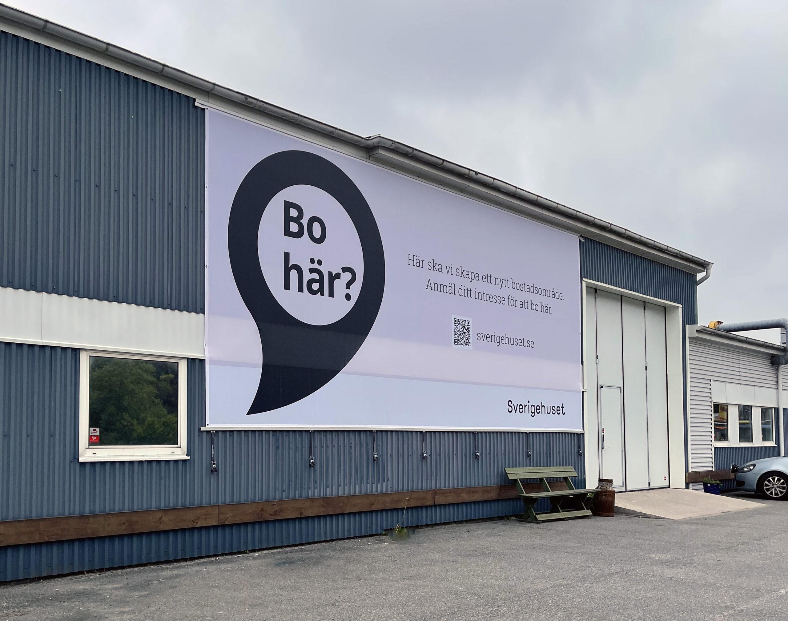Vepa Banderoll för Sverigehuset