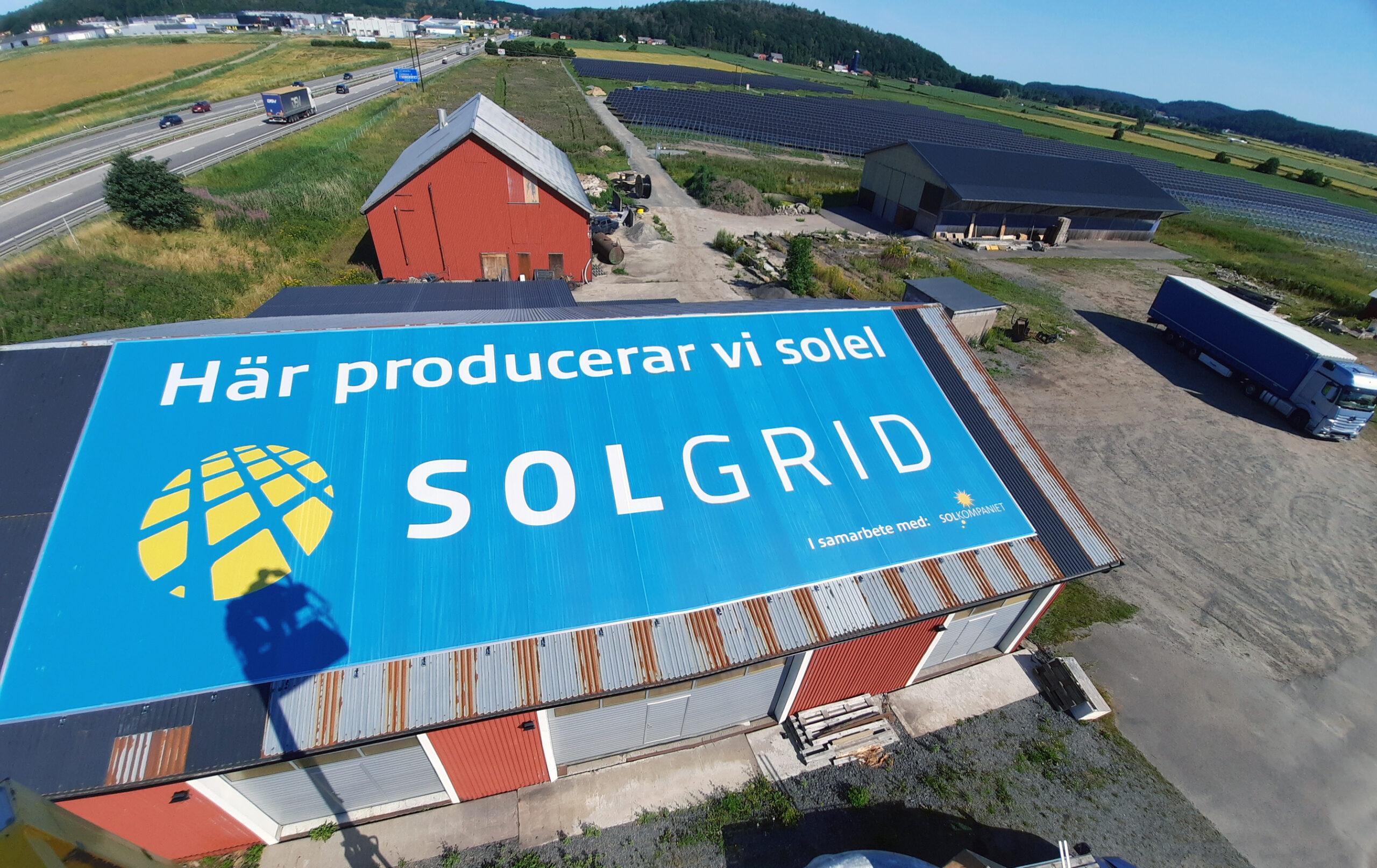 Takvepa Varberg Solgrid Banderoll